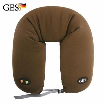 Массажная подушка GESS uNeck PRO GESS-306 brown